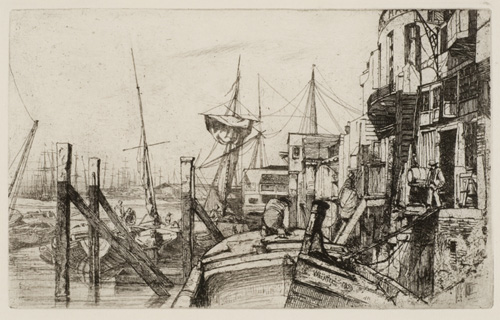Whistler. The Limehouse