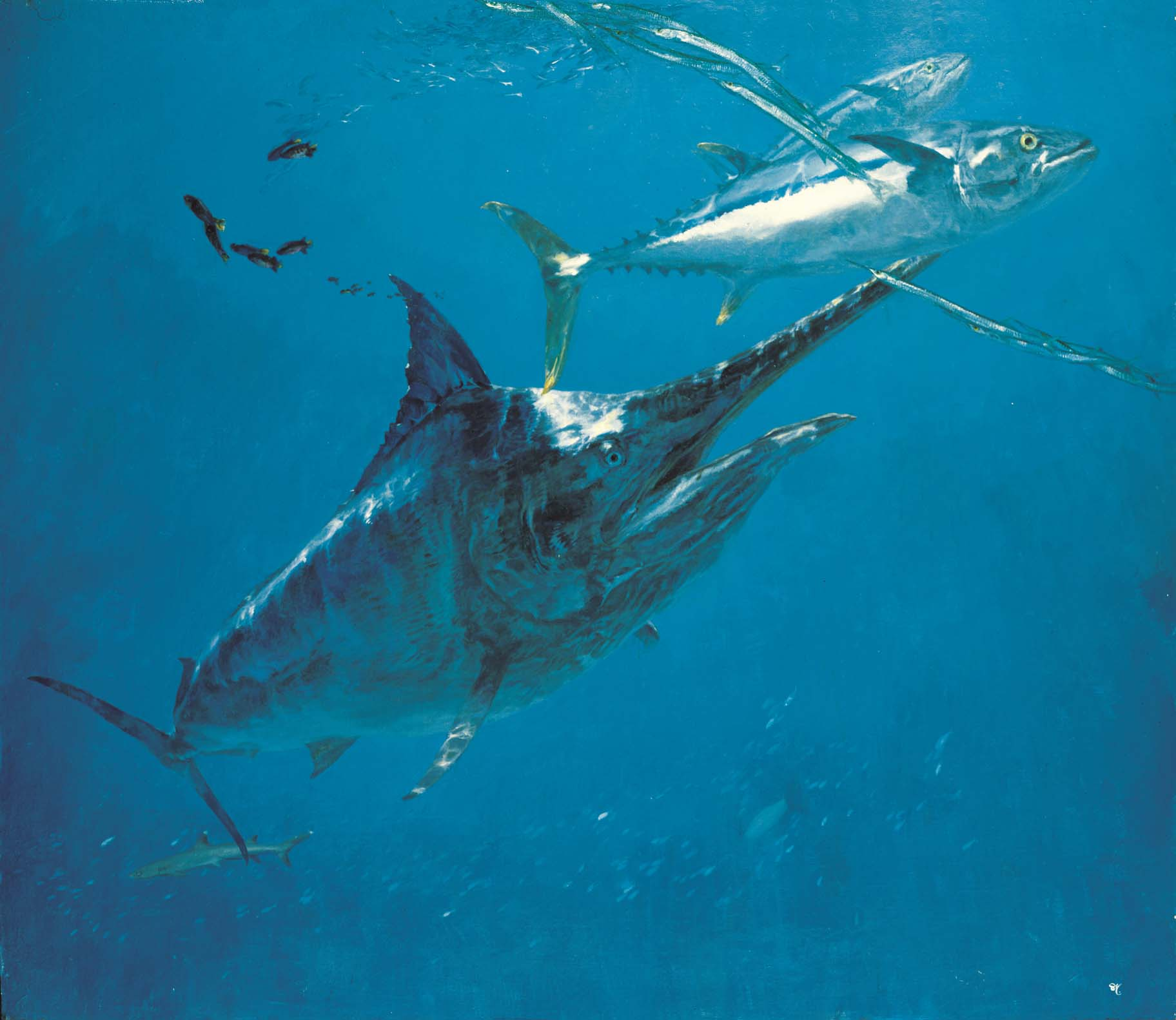 Lure of the Ocean: The Art of Stanley Meltzoff | Bruce Museum