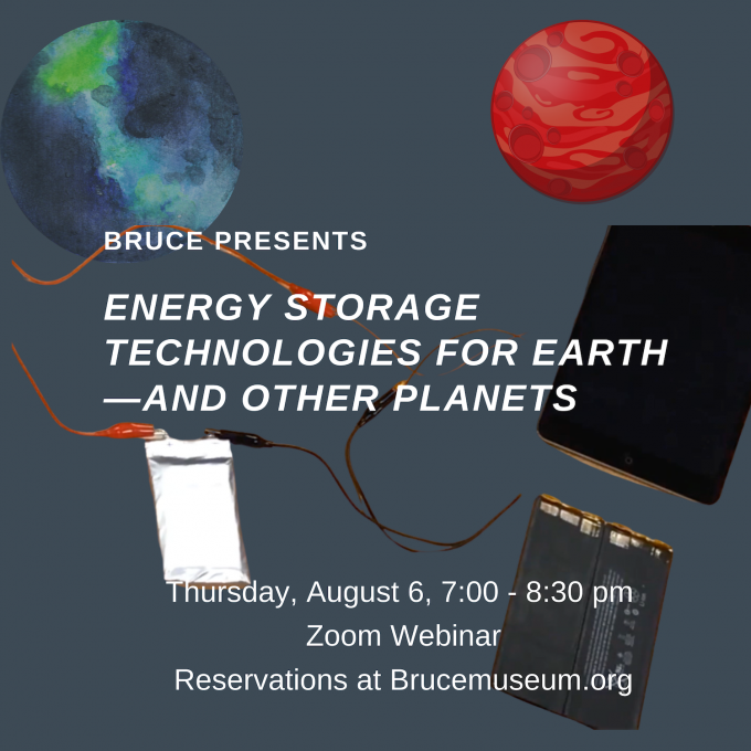 Bruce Presents: Energy Storage Technologies for Earth—and Other Planets