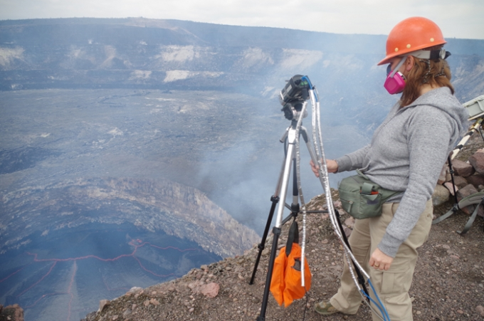 Science Lecture. Look, But Don't Touch! Using Close-range Remote-sensing to Study Lava