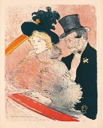 Henri de Toulouse-Lautrec (1864 – 1901) Au Concert, 1896 Color lithograph (before letters), 320 x 252 mm © Copyright Herakleidon Museum, Athens, Greece